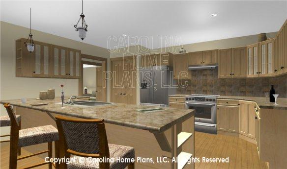 MS-2283-AC 3D Kitchen to Bar