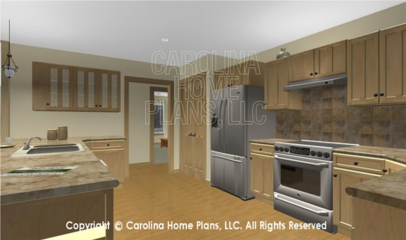 MS-2283-AC 3D Kitchen