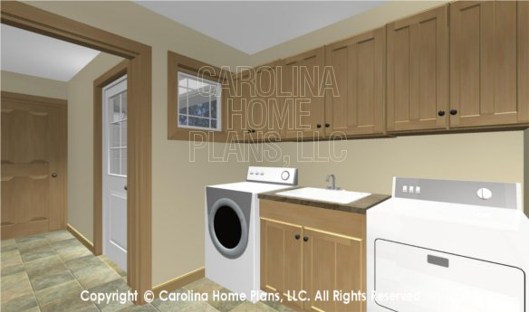 MS-2283-AC 3D Laundry to Breezeway