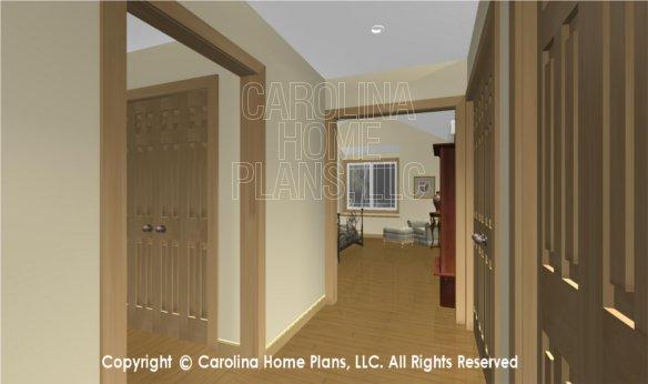 MS-2283-AC 3D Master Bedroom Dessing Closets