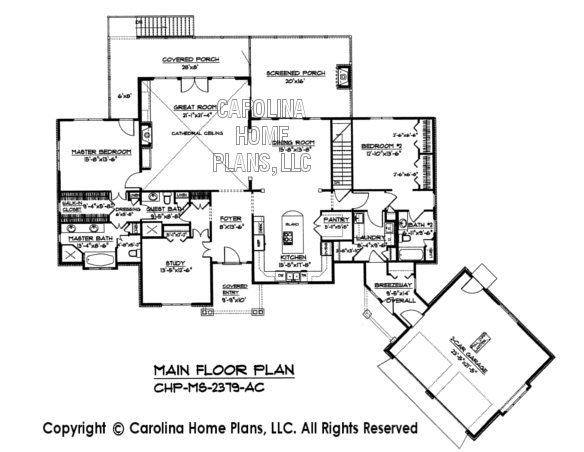MS-2379 Main Floor Plan