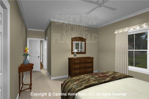 MS-2390-AC 3D Bedroom 2 to Bath