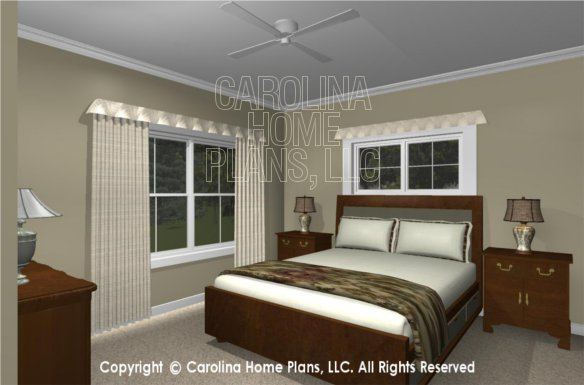 MS-2390-AC 3D Bedroom 2