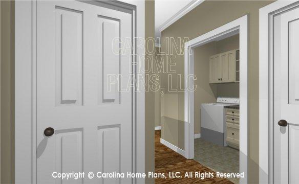 MS-2390-AC 3D Laundry Hallway