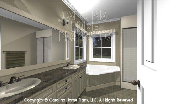 MS-2390-AC 3D Master Bath to Vanity
