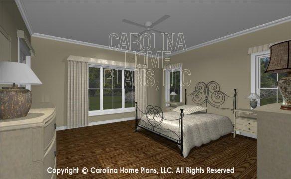 MS-2390-AC 3D Master Bedroom