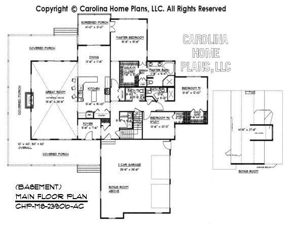 MS-2390 Main Floor Plan