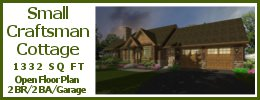 SG-1332 Small Craftsman House Plan