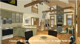 SM-1568 2 Story Open House Plan
