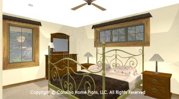 SM-1568 3D Master Bedroom
