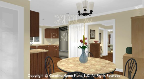 SG-1132 3D Dinette to Kitchen