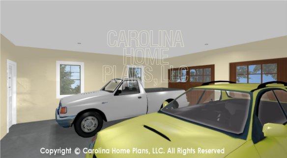 SG-1132 3D 2 Car Garage