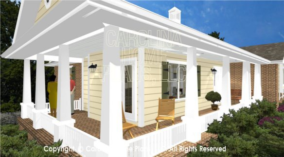SG-1132 3D Wrap-around Porch