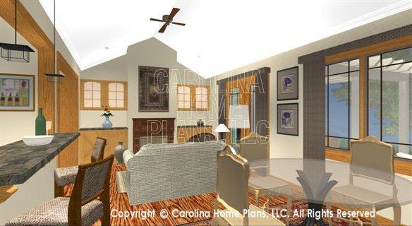 SG-1199 3D Bar Living-Dining Room