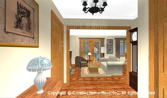SG-1199 3D Foyer to Living Room