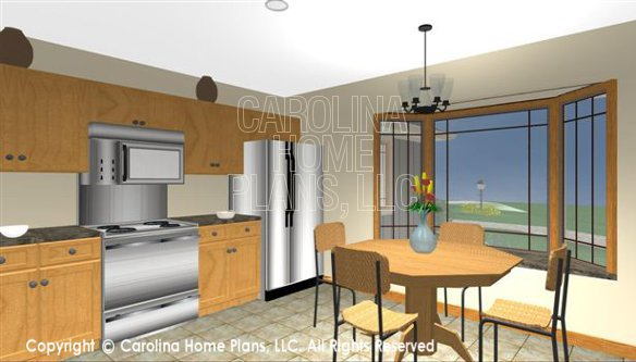 SG-1199 3D Kitchen Nook