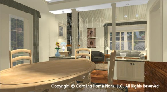 SG-1248 3D Dining Room to Living Room