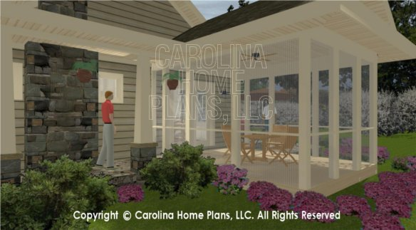 SG-1248 3D Screened Porch