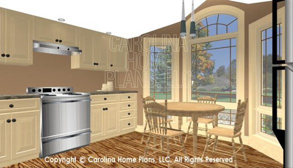 SG-1275 3D Kitchen Nook