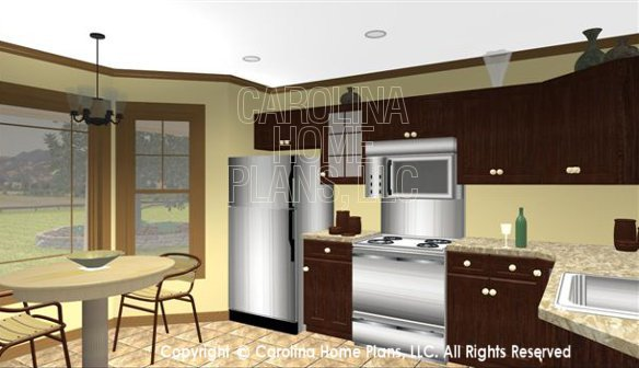 SG-1340 3D Kitchen and Nook