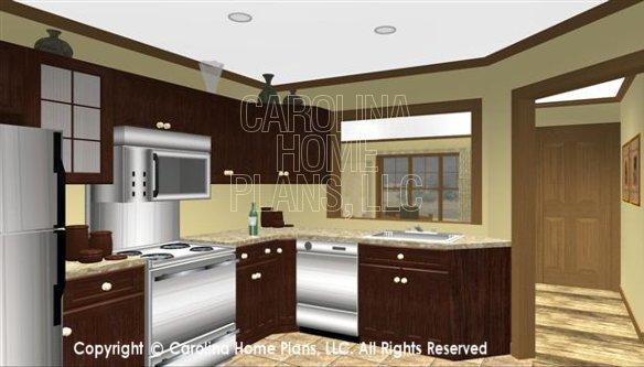 SG-1340 3D Kitchen