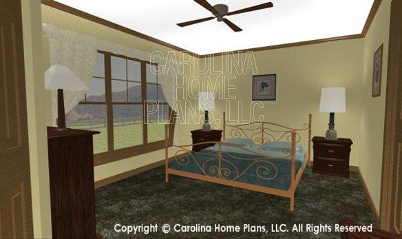 SG-1340 3D Master Bedroom