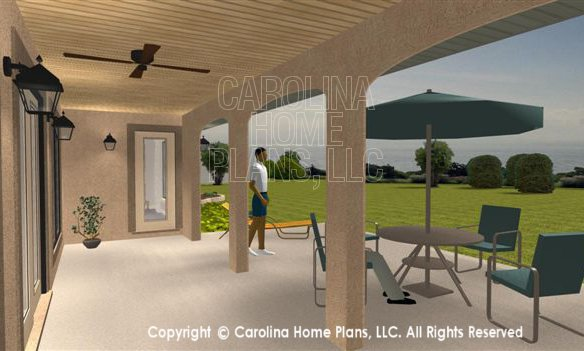 SG-1376 3D Covered Patio