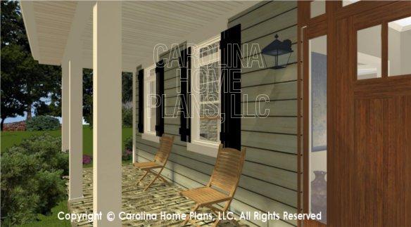 SG-1574 3D Front Porch View