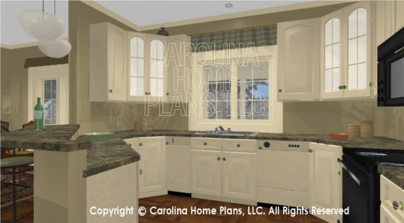 SG-1574 3D Kitchen