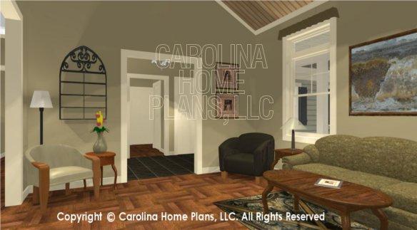 SG-1574 3D Living Room to Foyer