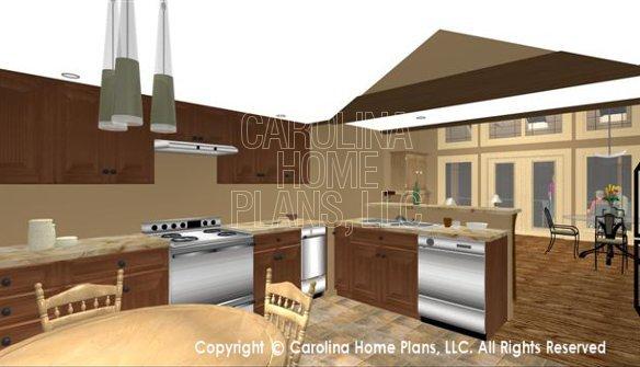 SG-1595 3D Kitchen