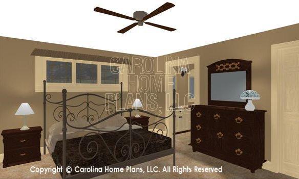SG-1595 3D Master Bedroom
