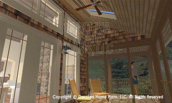 SG-1595 3D Porch Skylights