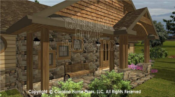 SG-1596 3D Front Porch