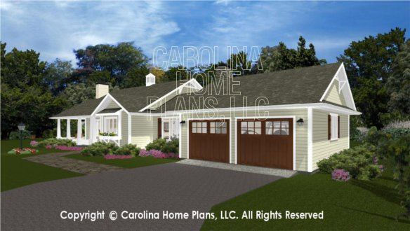 3d Images For Chp Sg 1660 Aa Small Craftsman Cottage 3d