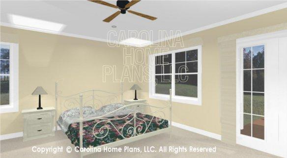 SG-1660 3D Master Bedroom