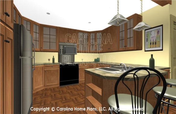 SG-1677 3D Kitchen