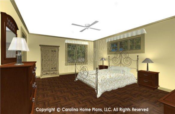 SG-1677 3D Master Bedroom