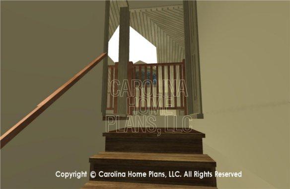 SG-1677 3D Stair Balcony