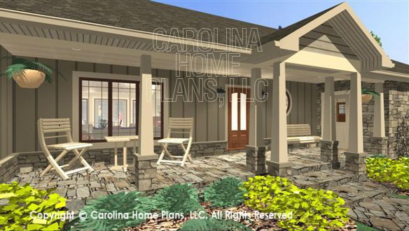 3d Images For Chp Sg 1681 Aa Small Country Ranch 3d