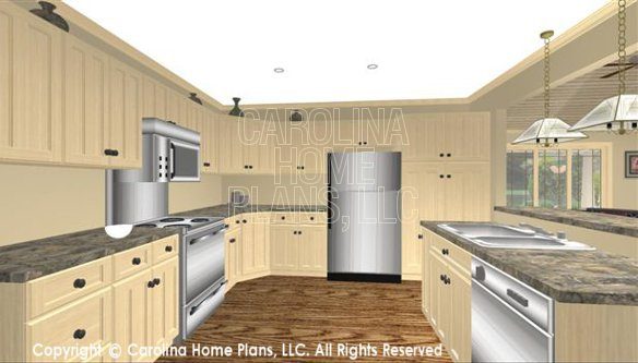 SG-1681 3D Kitchen