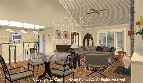 SG-1681 3D Dining Living Rm to Foyer