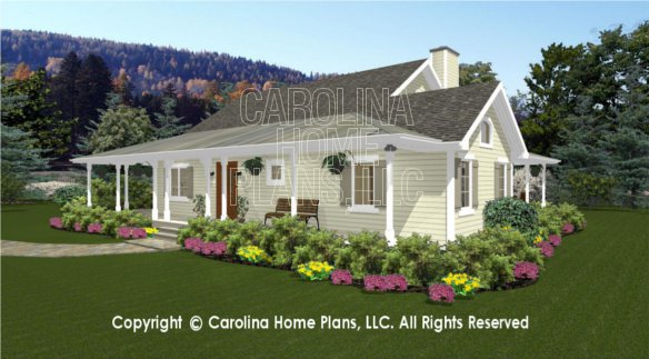 Small Country Cottage House Plans 3d Images For Chp Sg 1280 Aa Small