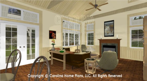 3d images for chp sg 1280 aa small country cottage 3d for Carolina plan room