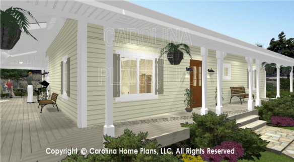 SG-1280 3D Wrap-around Front Porch
