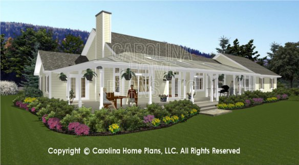 Breezeway garage house plans Home design and style