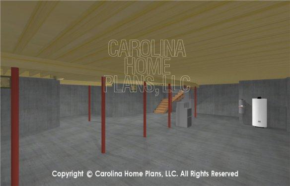 SG-1332 3D Basement Stairway
