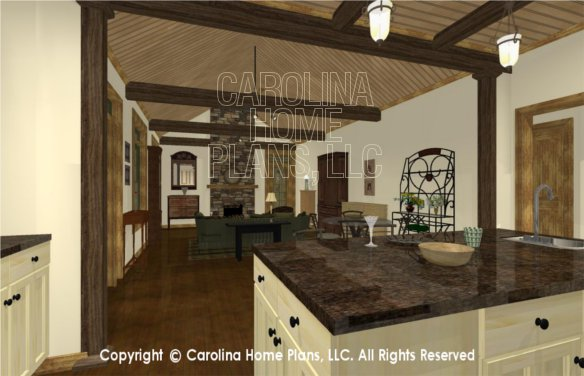 SG-1332 3D Kitchen to Dining