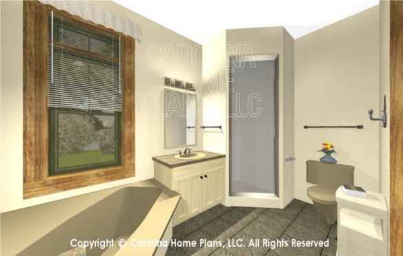 SG-1332 3D Master Bath to Shower