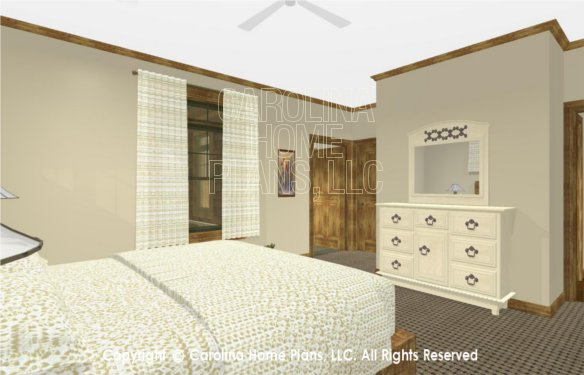 SG-1332 3D Master Bedroom to Bath, Closet